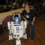 Shelley with R2D2