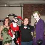 Kriana fondling Harley Quinn and Poison Ivy while the Joker is distracted...