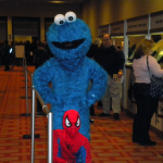 Cookie Monster crashes the Con