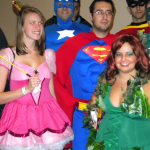Super Hero's....hey wait, is that a pink princess?